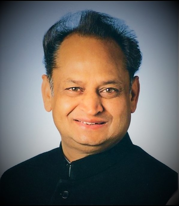 Ashok Gehlot Offical Photo