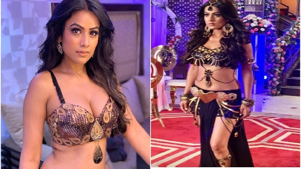 Nia Sharma is shooting Naagin 4 final episode 5