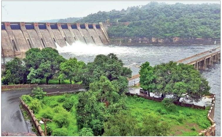 Gandhi Sagar Dam On Chambal River Rajasthan