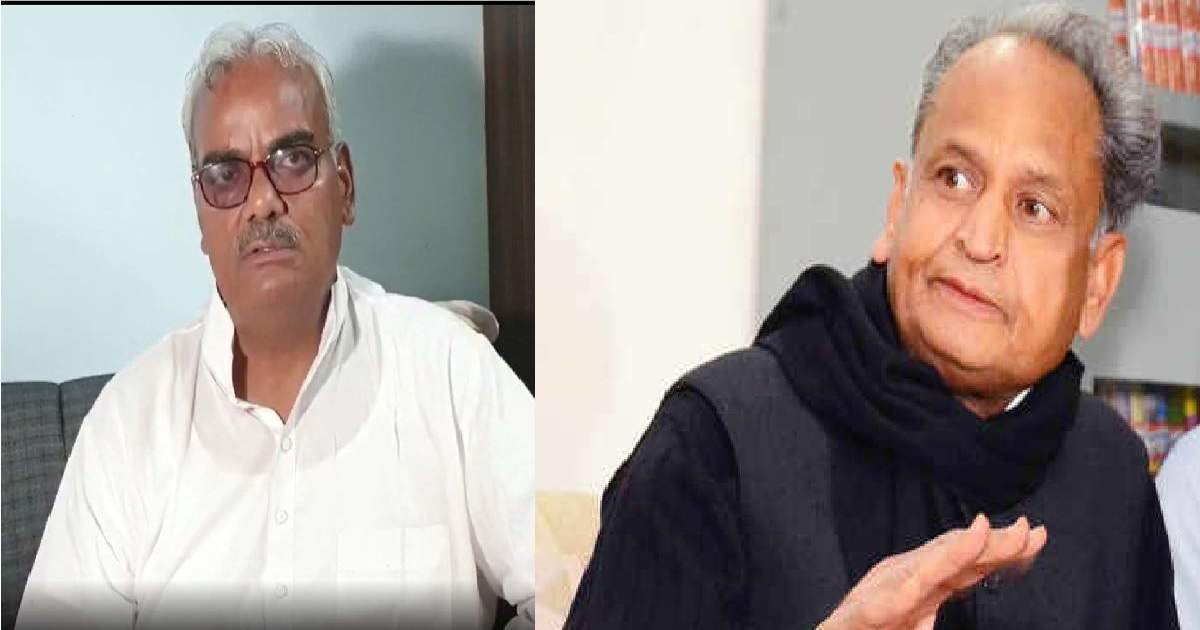 Madan Dilawar vs ashok gehlot