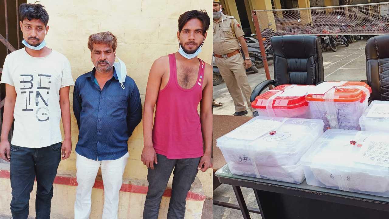 3 held for stealing 64 kg silver in Kota