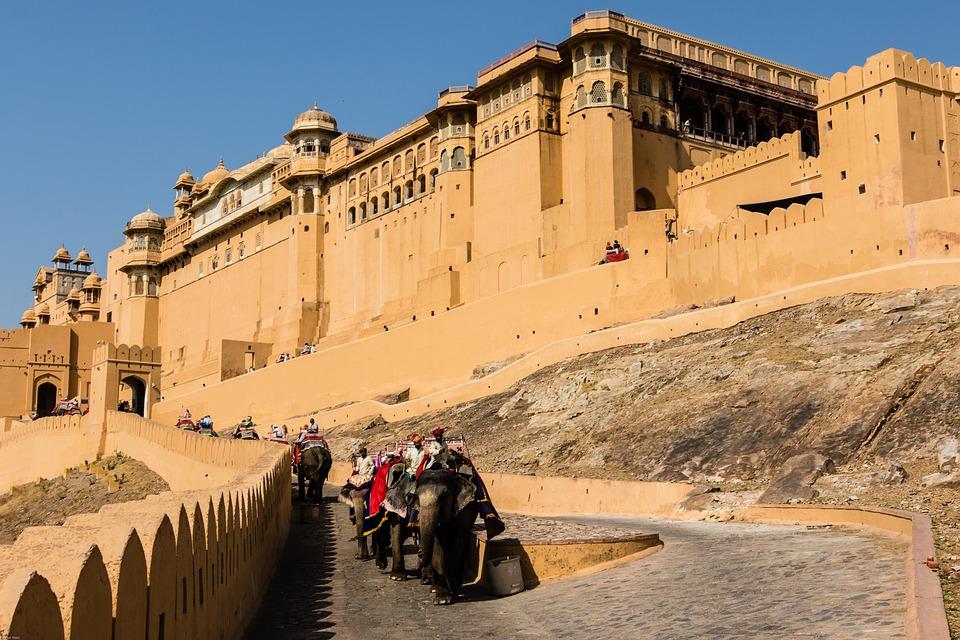 Amber Fort And Palace Jaipur Rajasthan