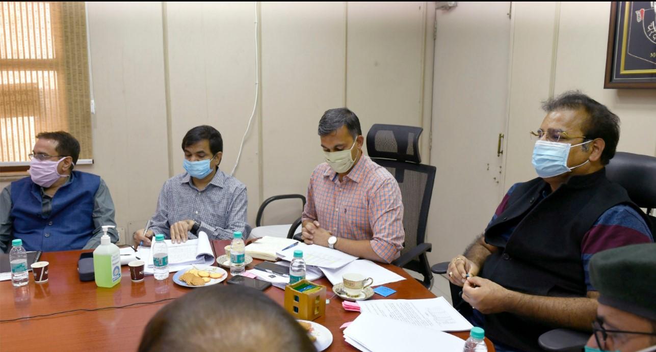 Pratap Singh Khachariyawas in Meeting