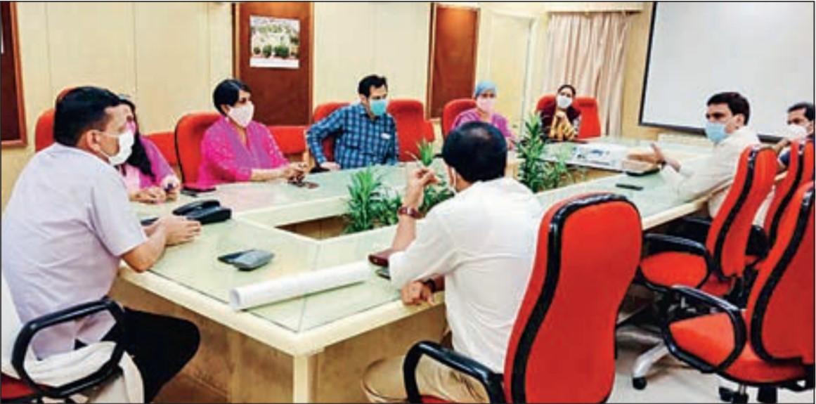 RAS Officer Meeting with RHB Commisoner Pawan Arora
