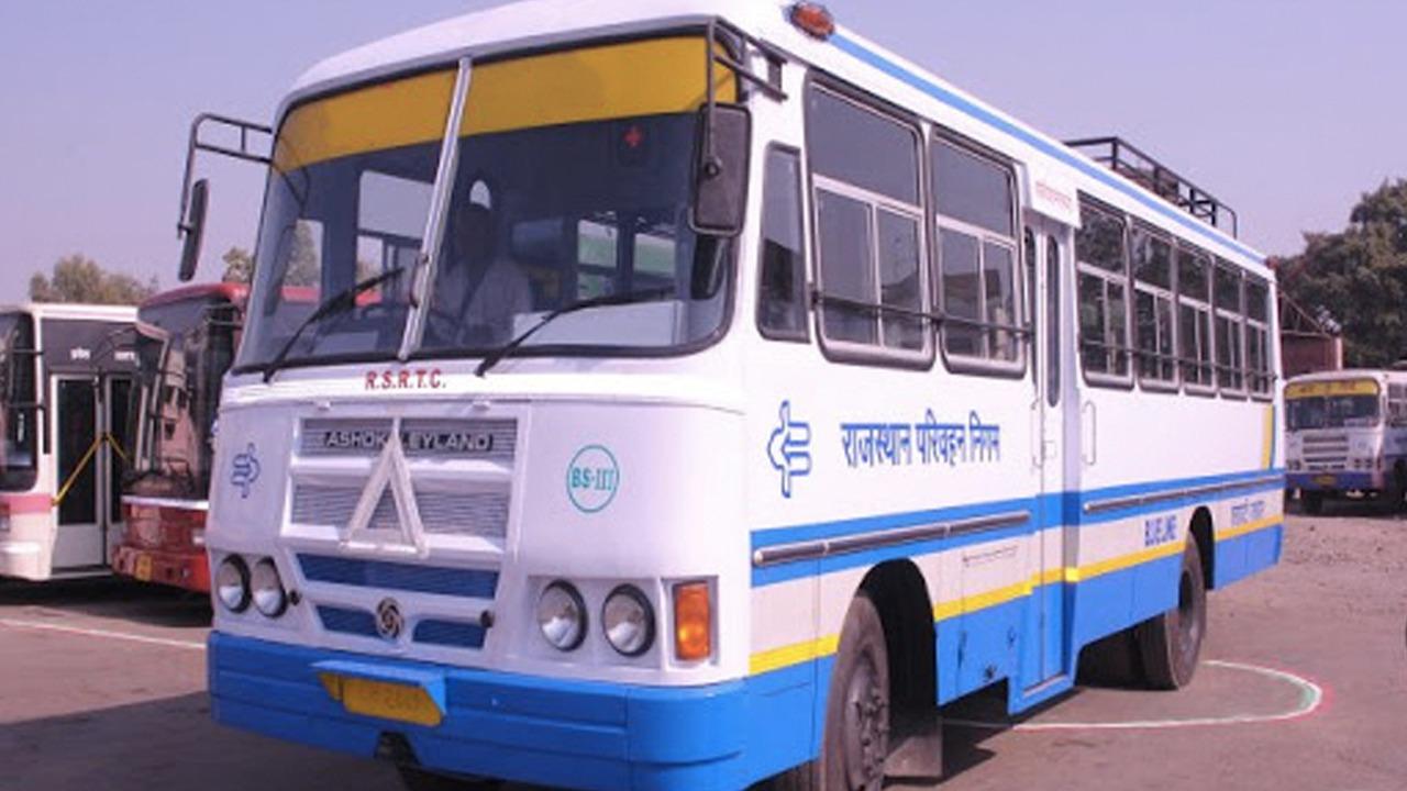 Rajasthan Roadways Bus